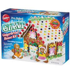 Gingerbread Kits - Pre-Baked Giant Gingerbread House Kit