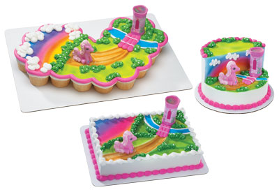 My Little Pony Kaleidoscope Cake Topper Set